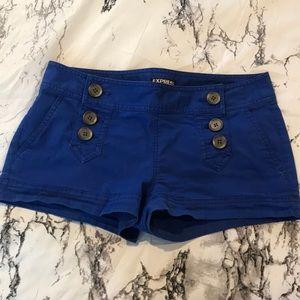 Blue Express Shorts